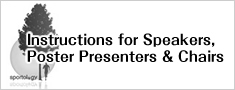 Instructions for Speakers, Poster Presenters & Chairs